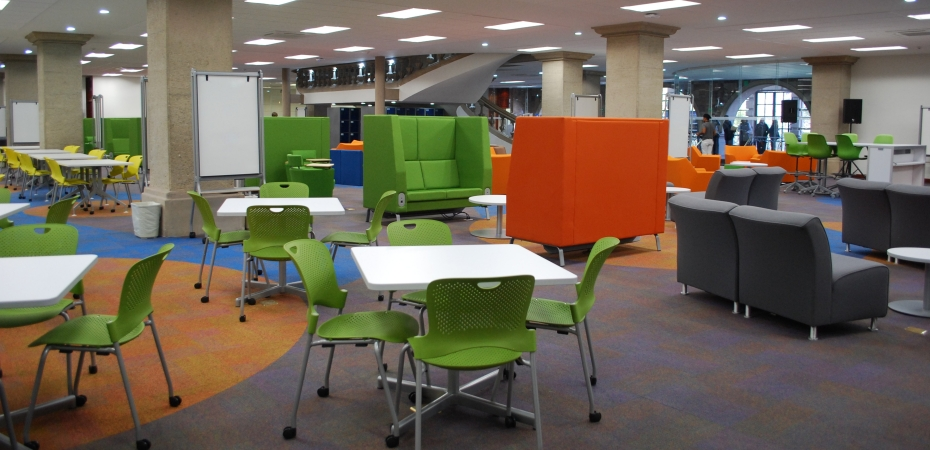 Example of a learning space for students